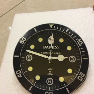 Bapex by A Bathing Ape Special Edition Stand Clock